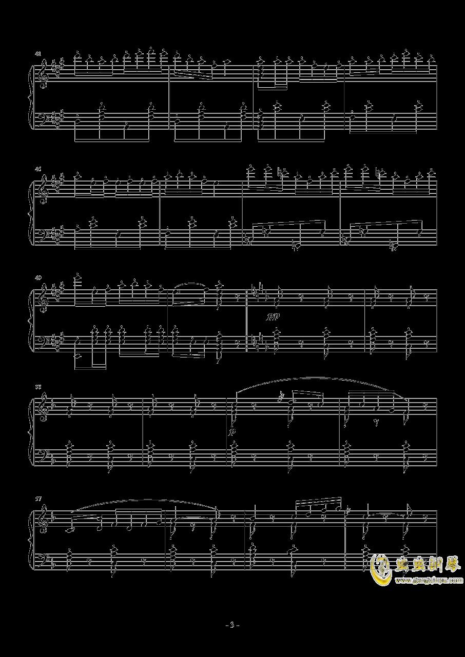 卡门序曲钢琴谱 第3页