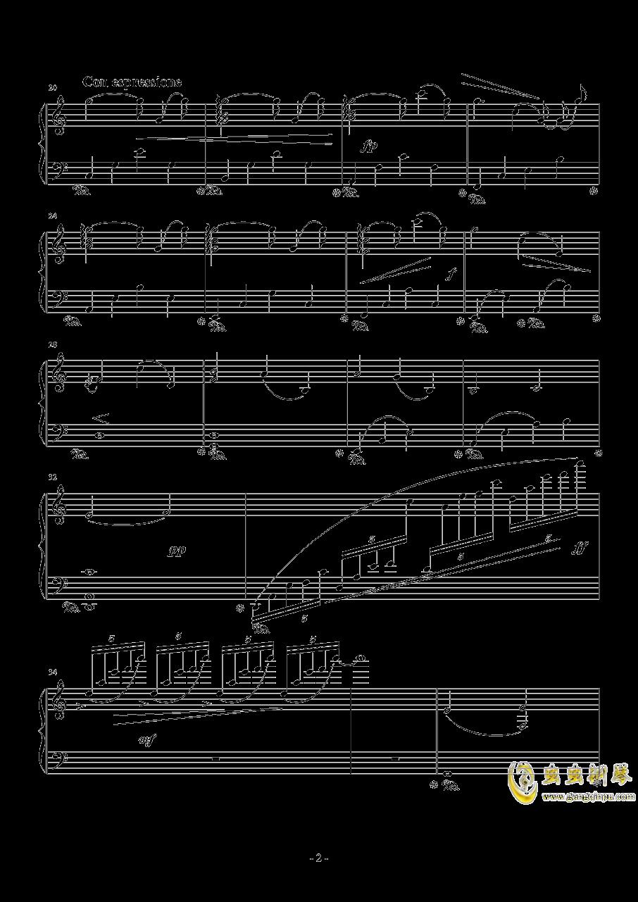 播放钢琴谱 第2页