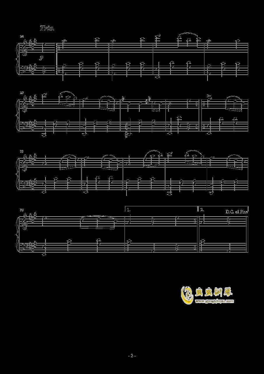 升f小调钢琴奏鸣曲钢琴谱 第2页