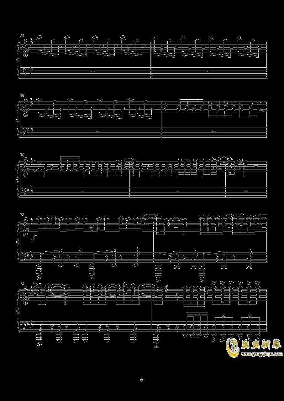 despacito钢琴谱 第6页