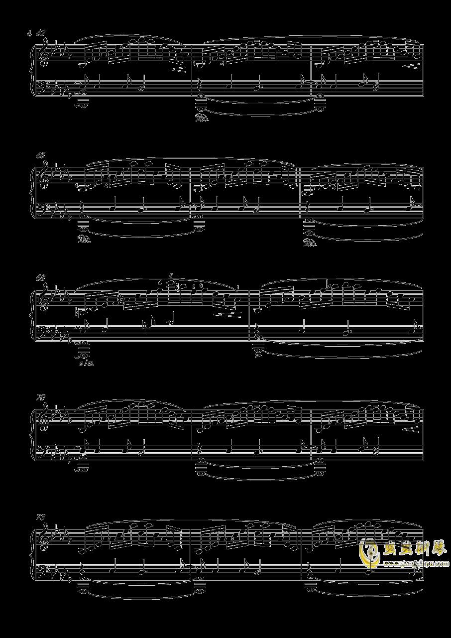 幻想游戏钢琴谱 第4页