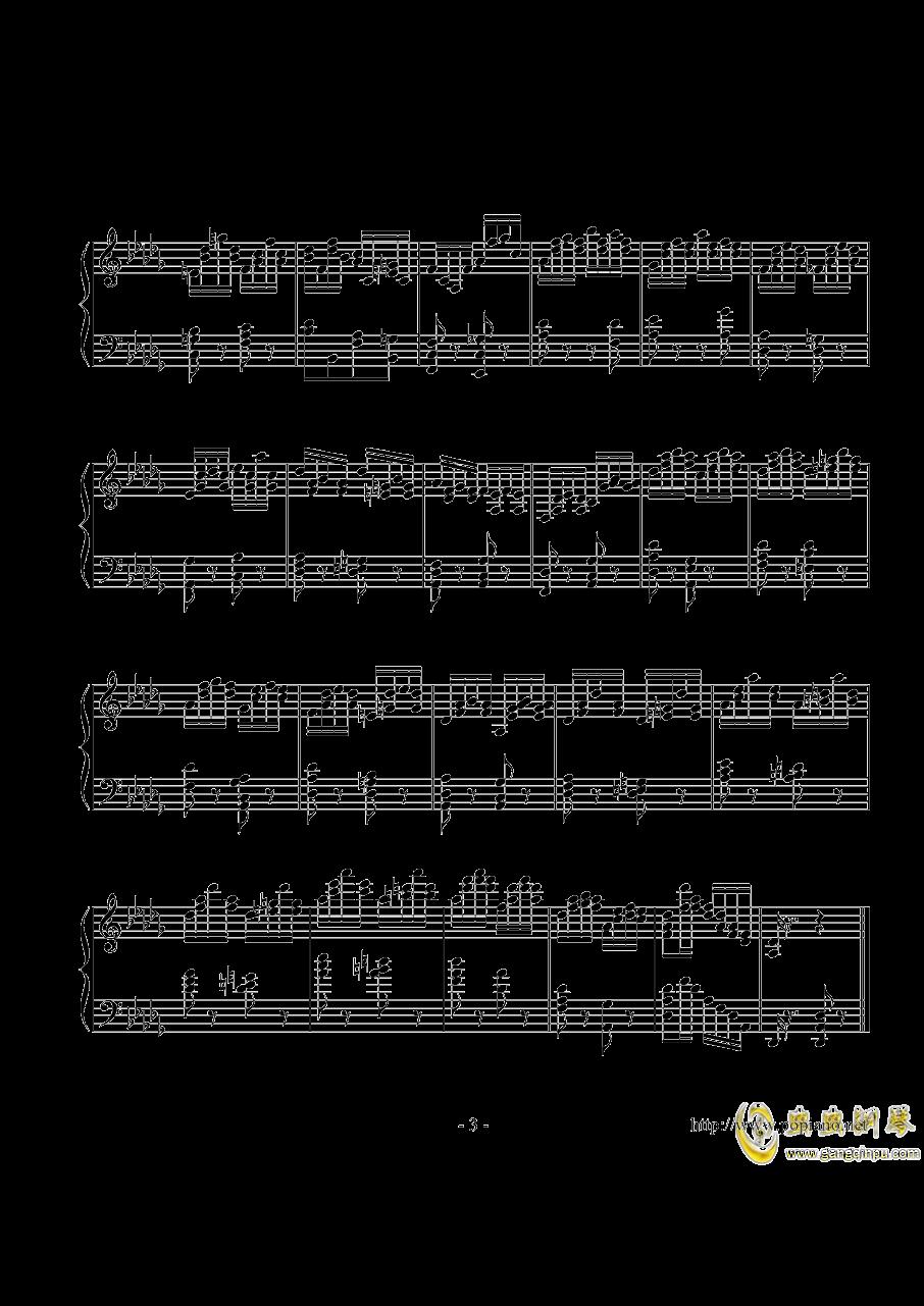练习曲Op_1 No_8【分解和弦双音练习曲】澳门星际官网 第3页