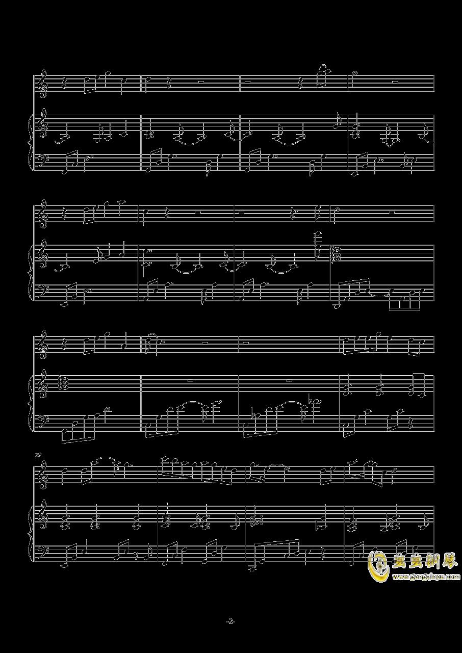 雪落下的声音钢琴谱 第2页