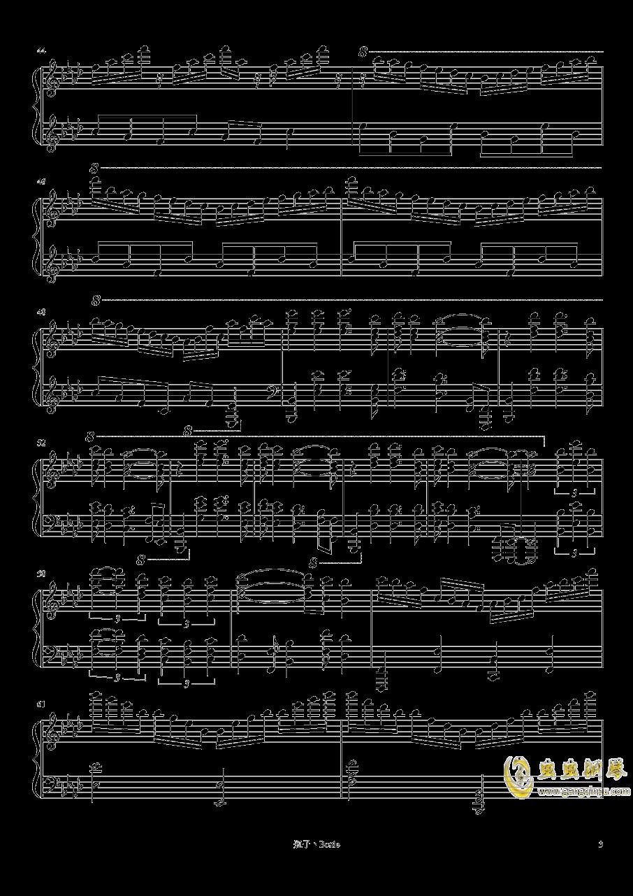 clocks-时钟钢琴谱 第3页