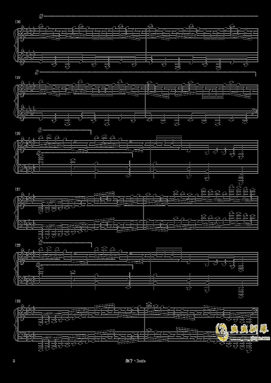 clocks-时钟钢琴谱 第8页