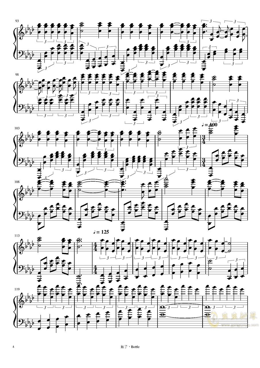 All of Me钢琴谱 第4页