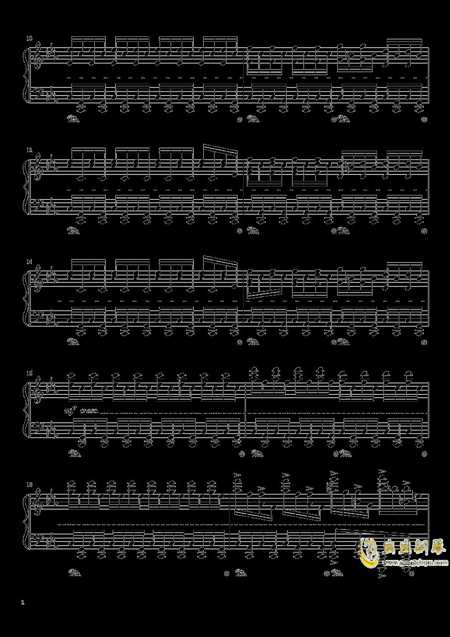 Chapter1 PSP版主旋律钢琴谱 第2页