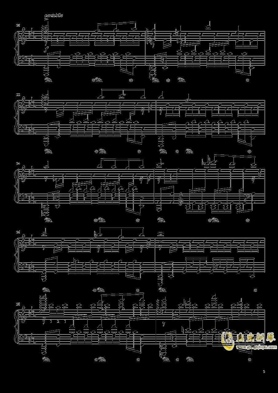 Chapter1 PSP版主旋律钢琴谱 第3页