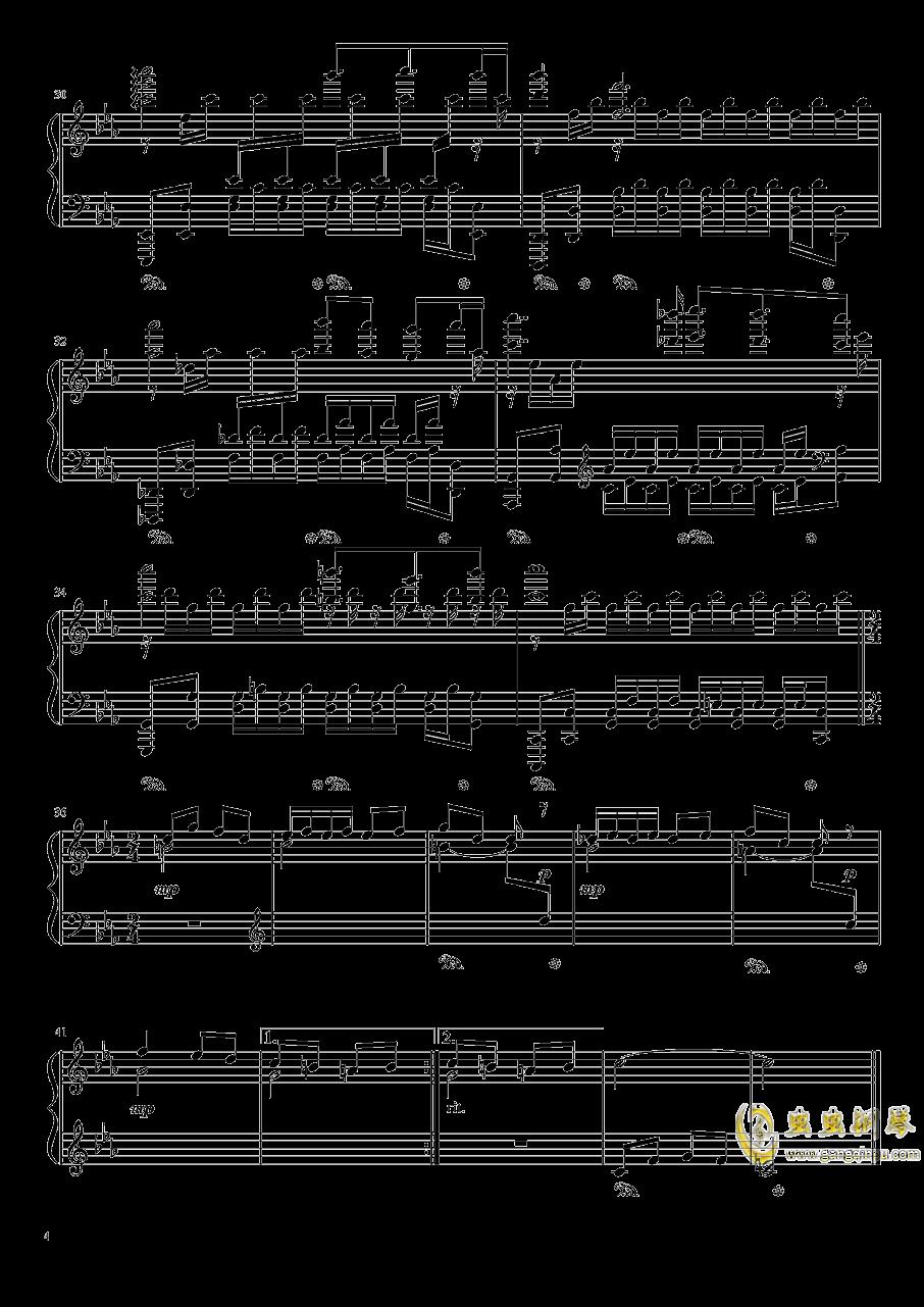 Chapter1 PSP版主旋律钢琴谱 第4页