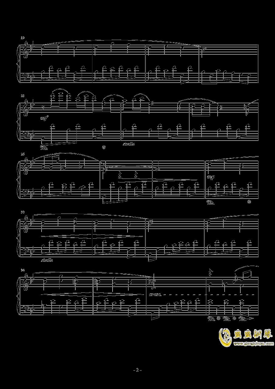 隐者的书库钢琴谱 第2页