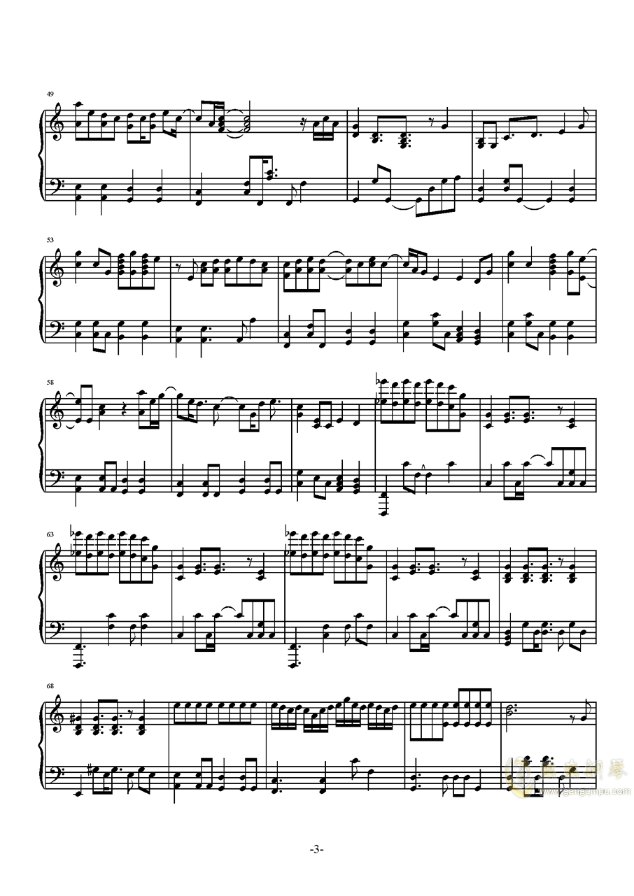 Don钢琴谱 第3页