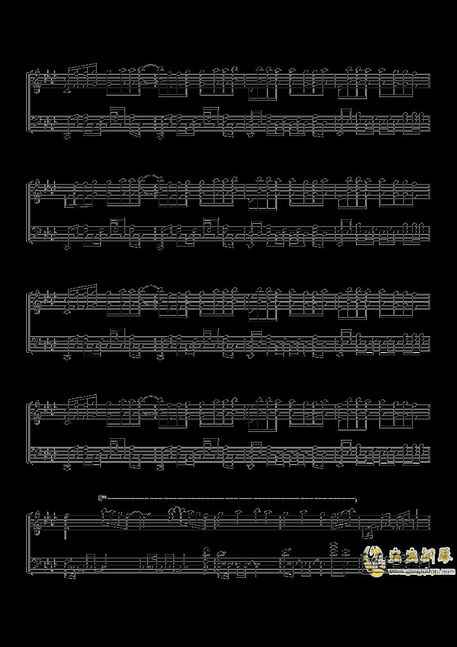 Time Back钢琴谱 第2页