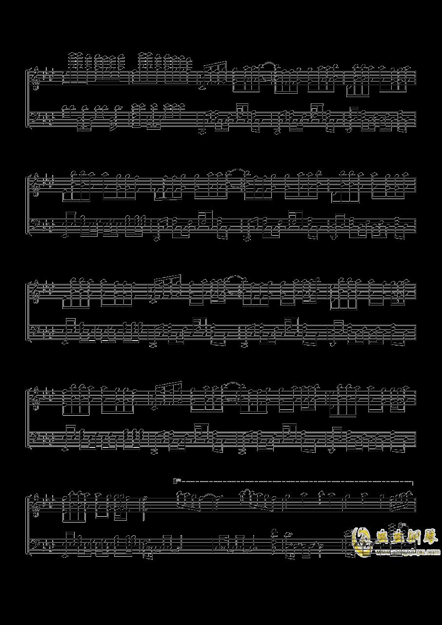 Time Back钢琴谱 第4页