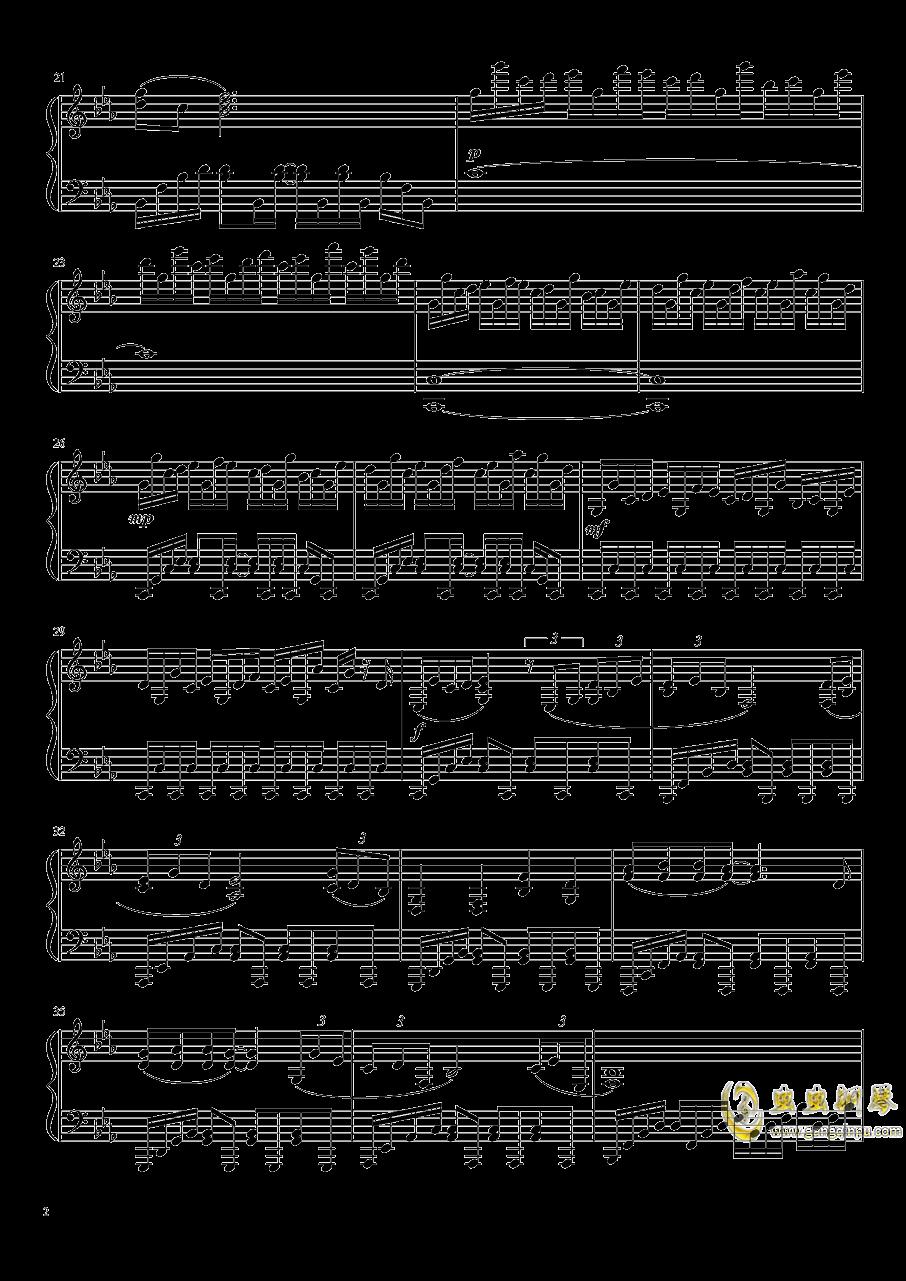 进击的巨人钢琴谱 第2页