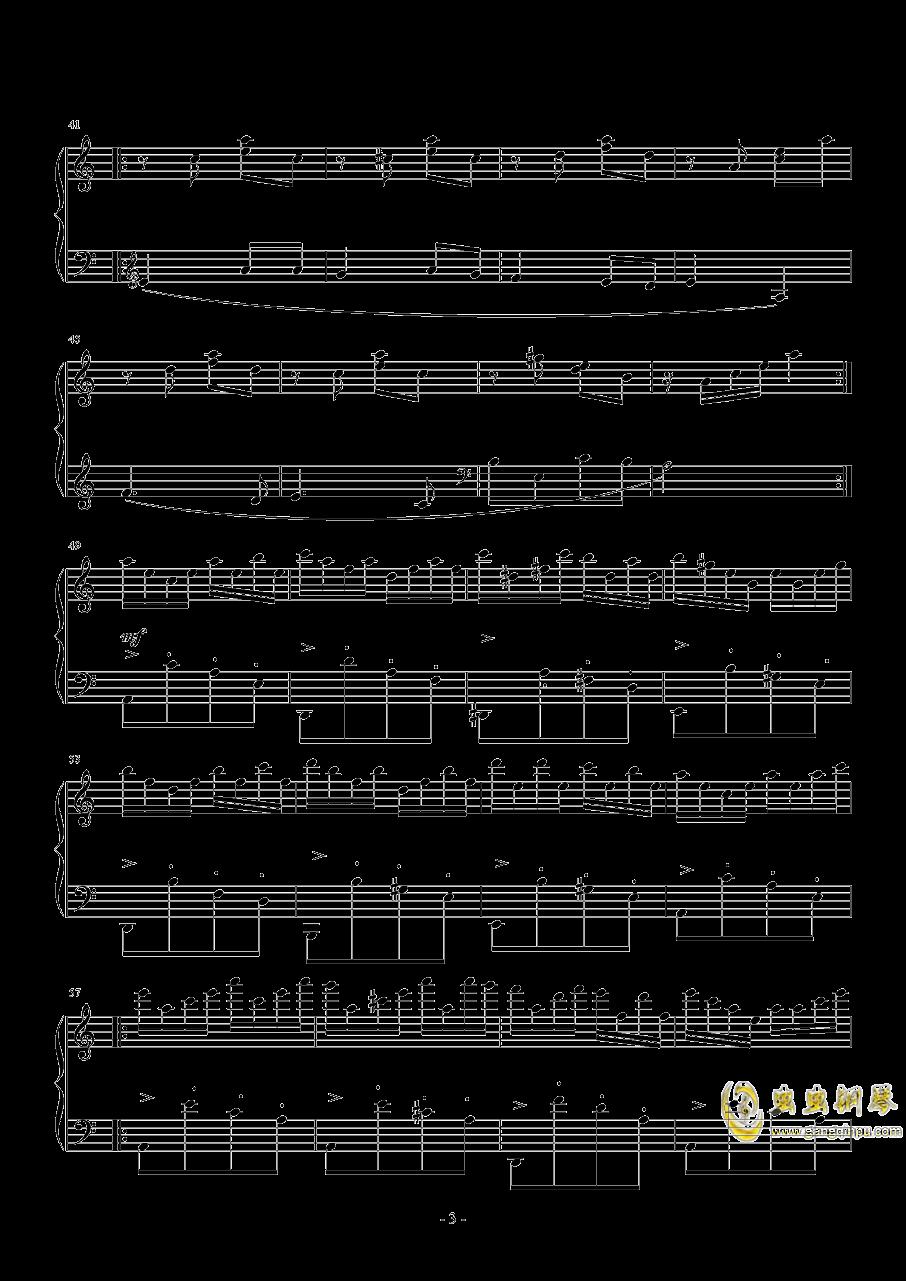 喀秋莎钢琴谱 第3页