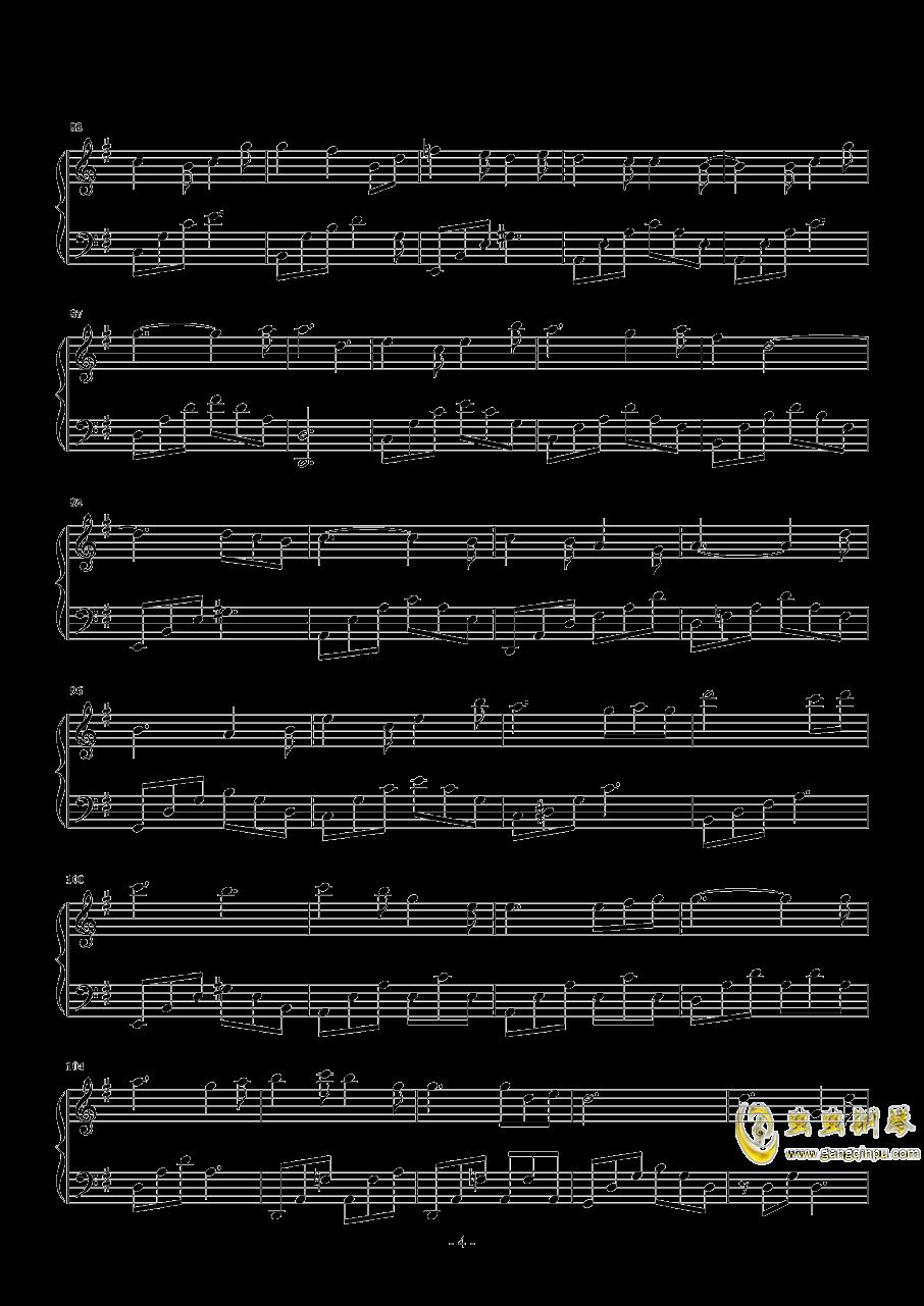 颠倒钢琴谱 第4页