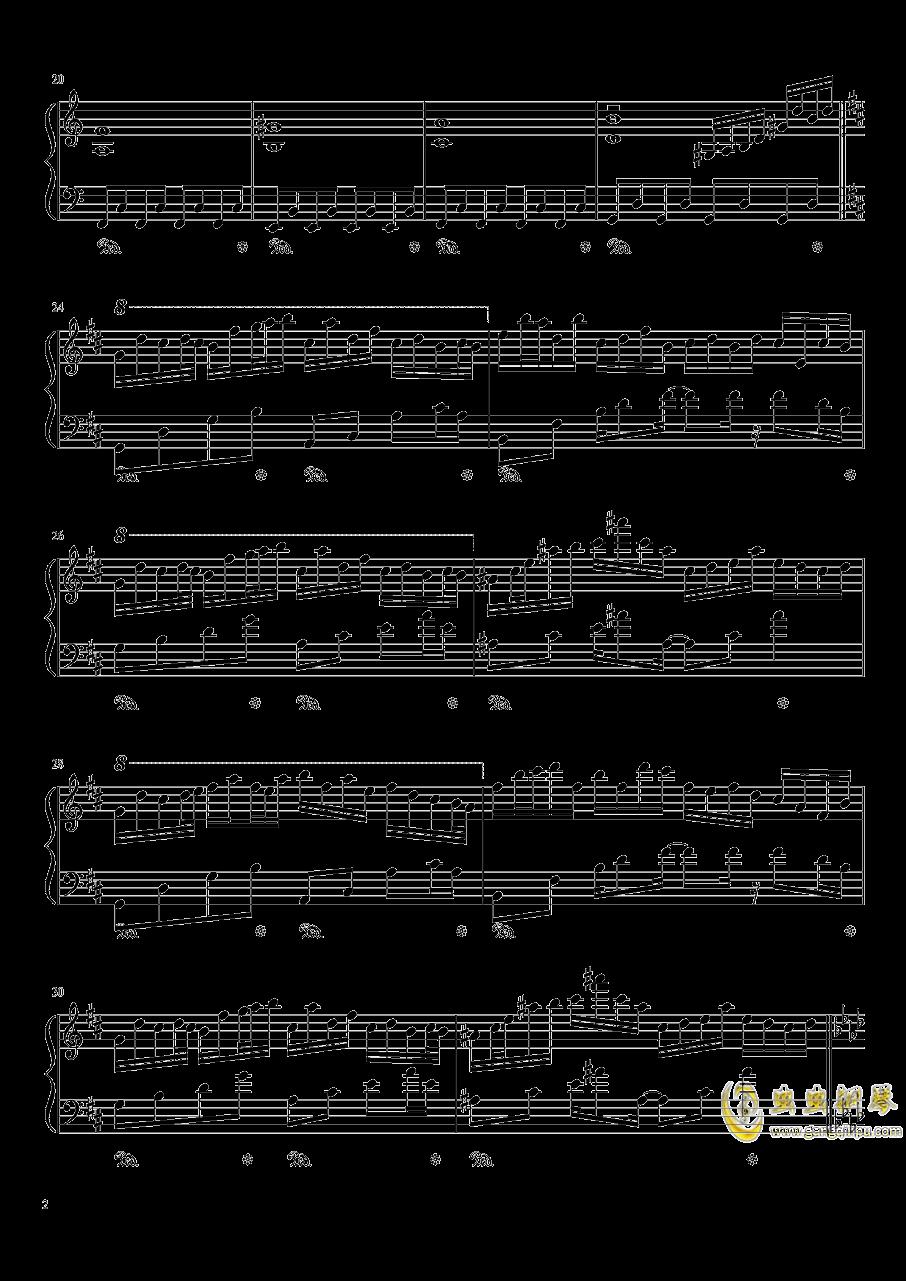 Plain Asia钢琴谱 第2页