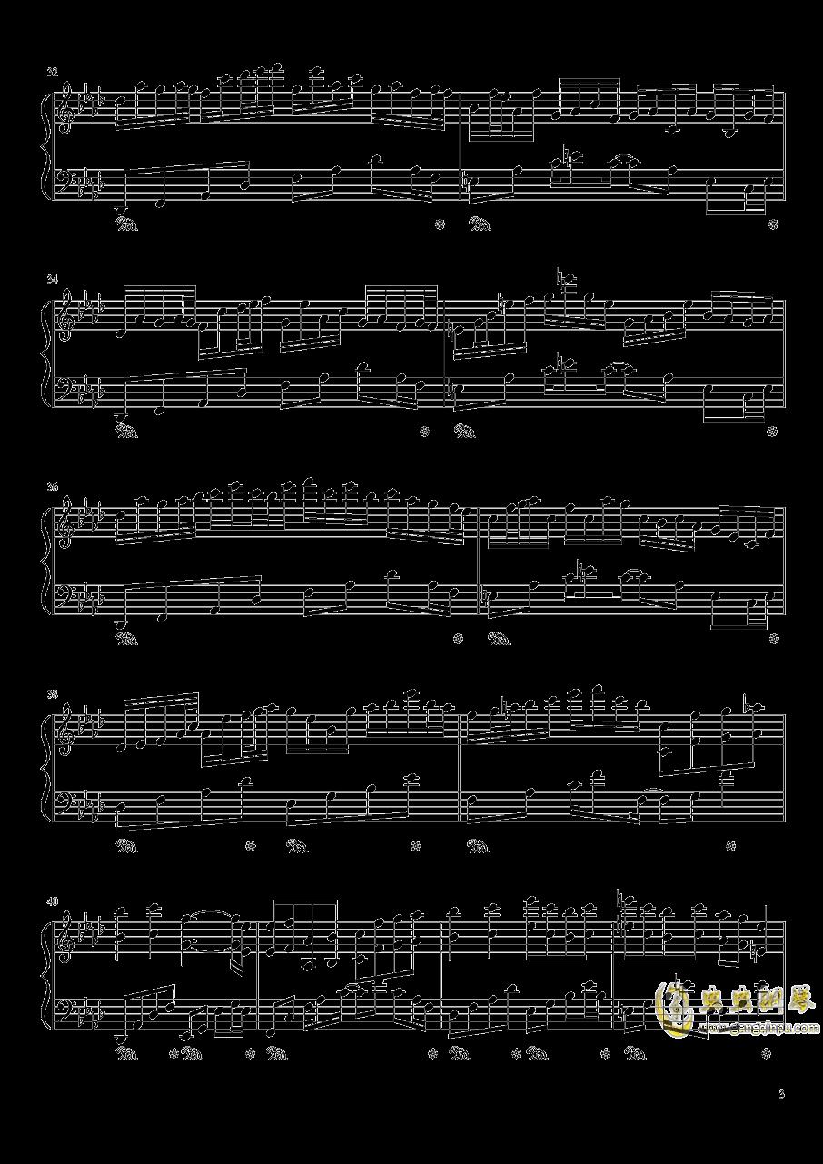 Plain Asia钢琴谱 第3页