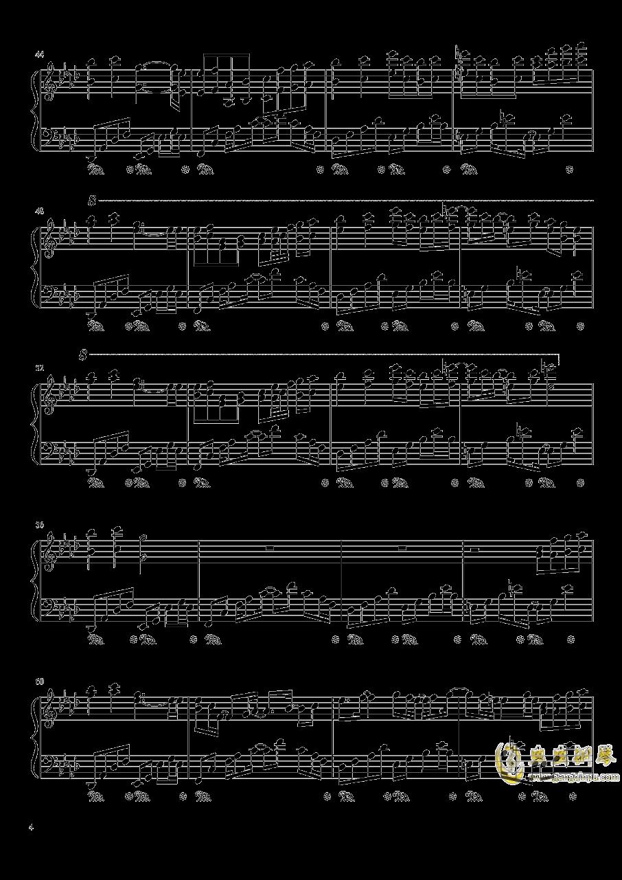Plain Asia钢琴谱 第4页
