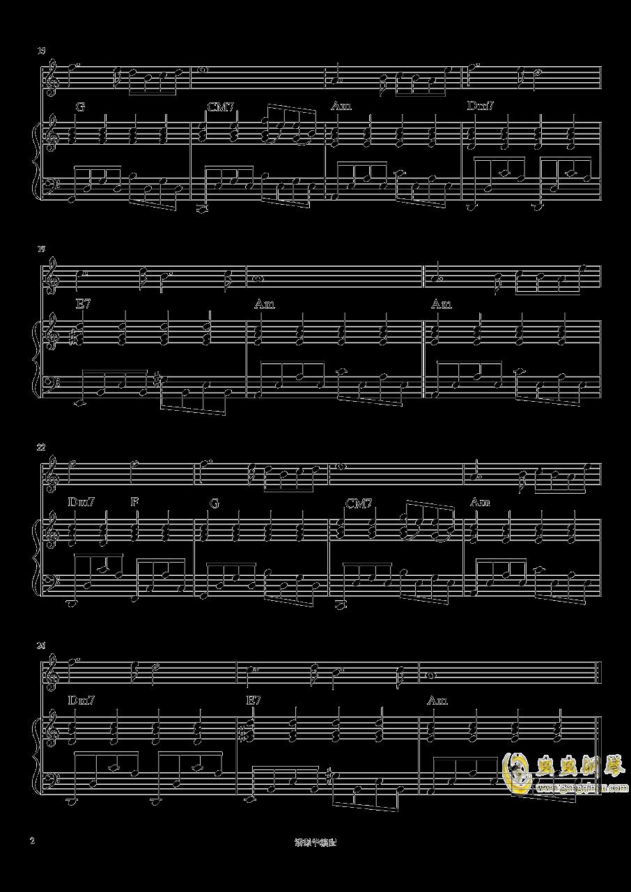 莎巴女王钢琴谱 第2页