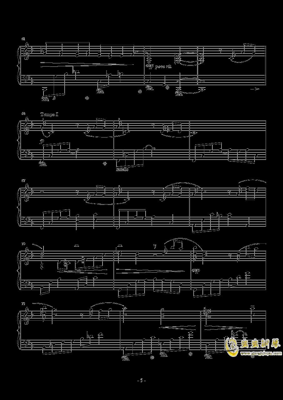 ���o蒂法的歌�琴�V 第5�
