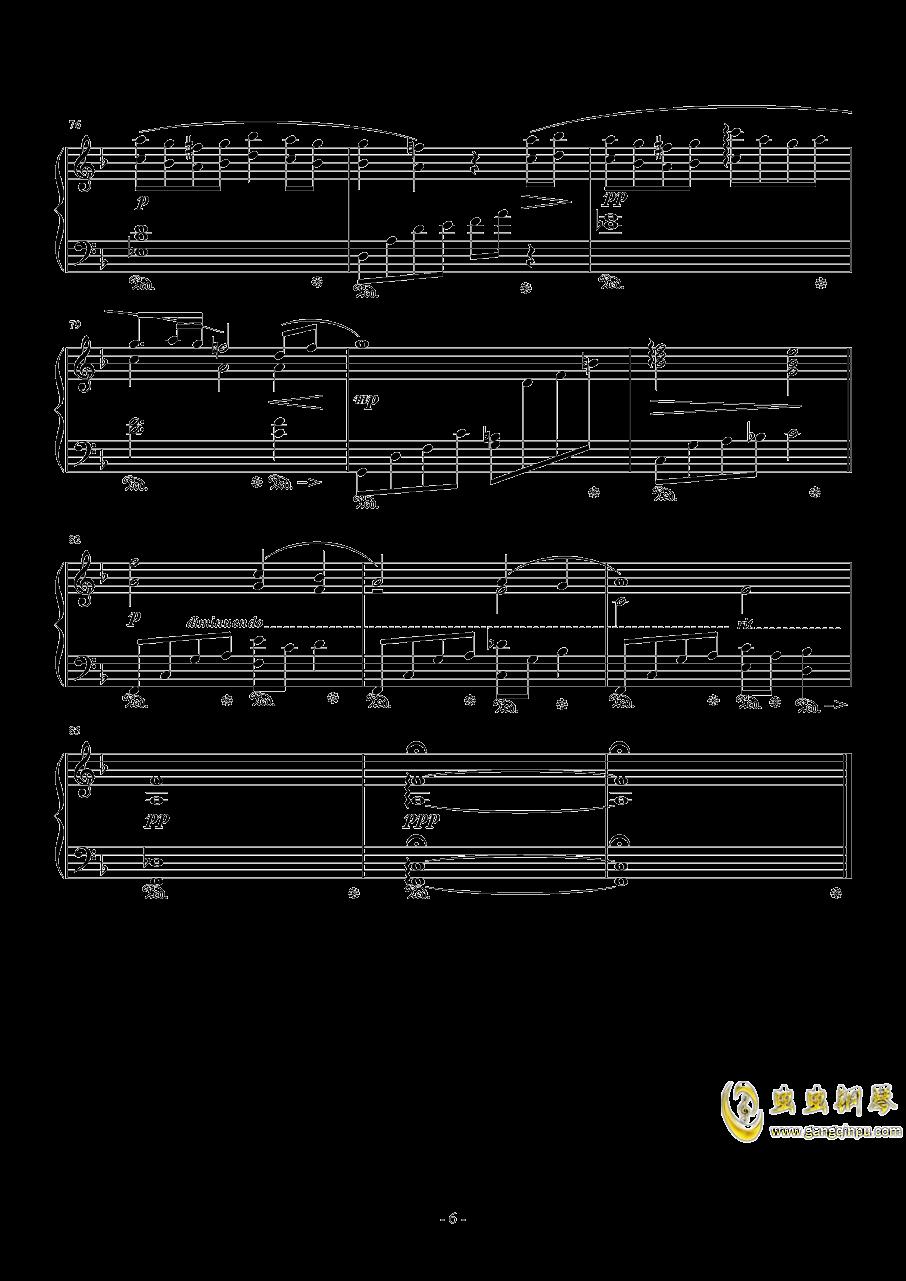���o蒂法的歌�琴�V 第6�