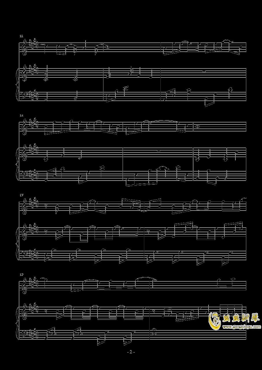 分组钢琴谱 第2页
