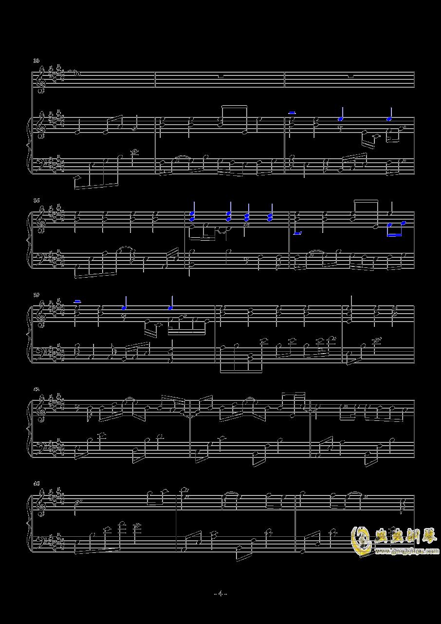 分组钢琴谱 第4页