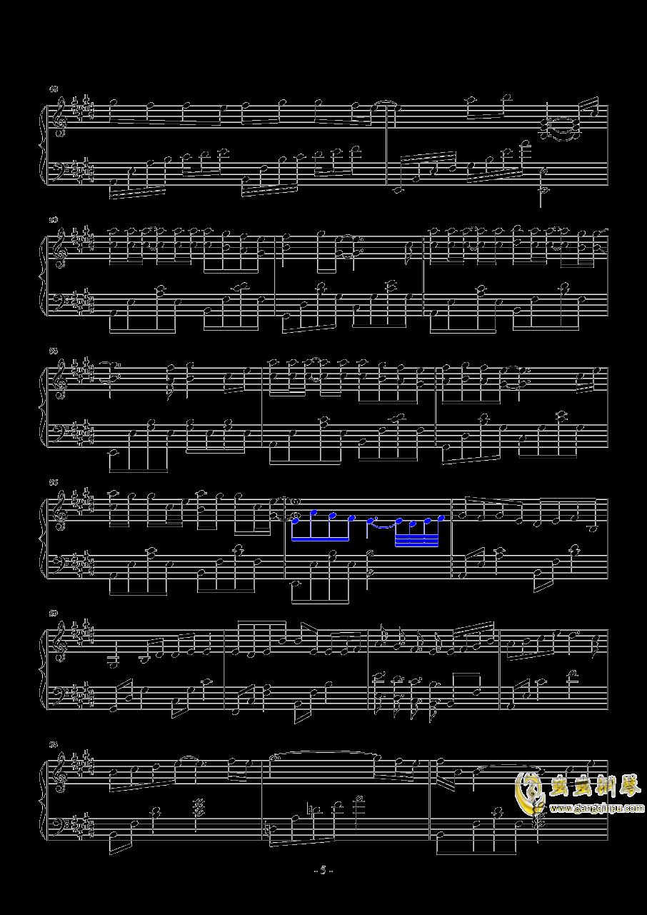 分组钢琴谱 第5页