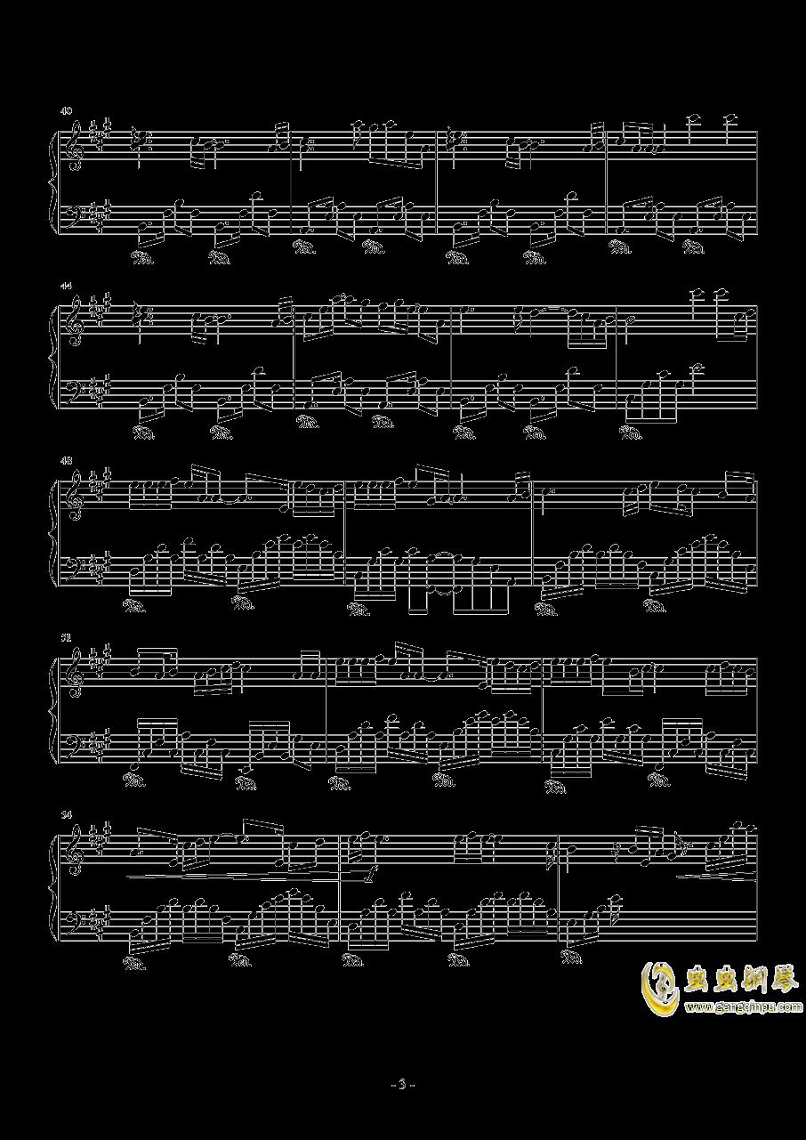 Rainbow钢琴谱 第3页