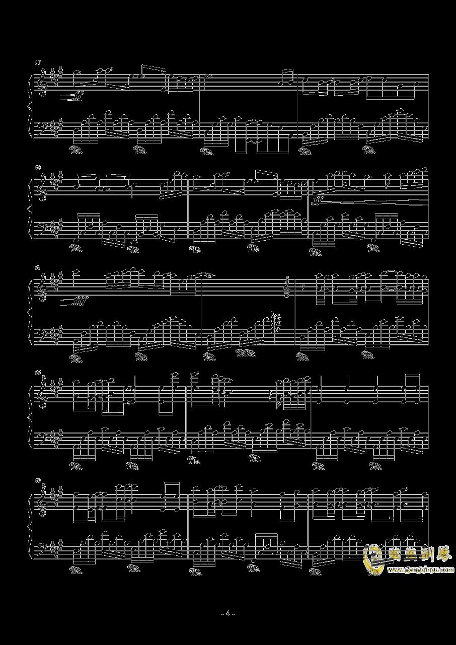 Rainbow钢琴谱 第4页