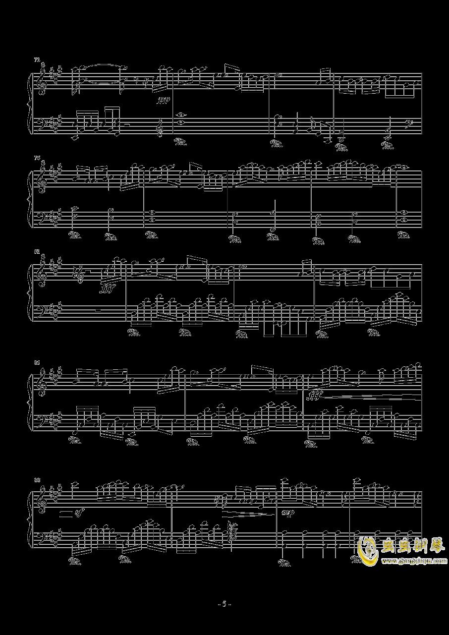 Rainbow钢琴谱 第5页