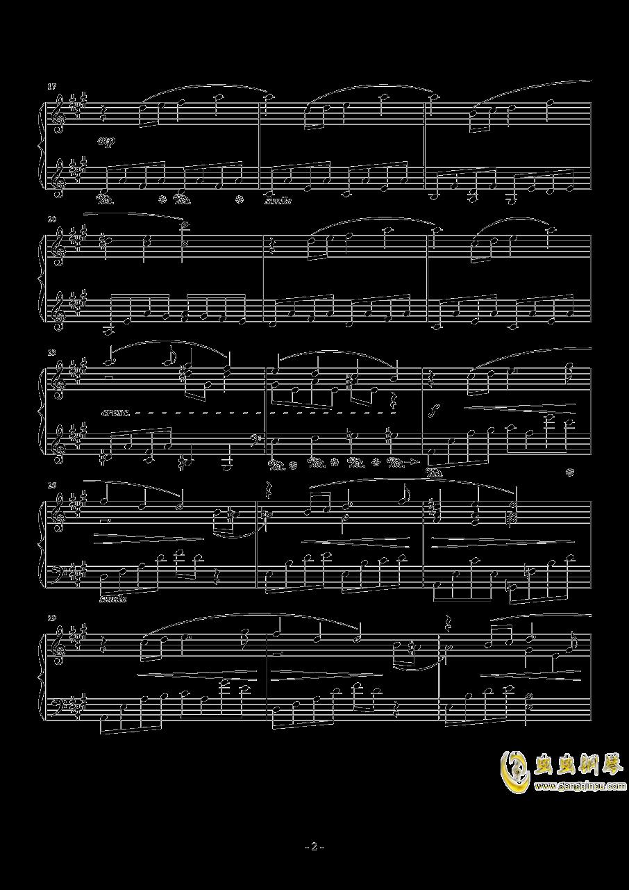 Ami钢琴谱 第2页