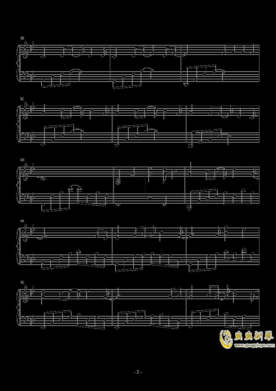 几个你钢琴谱 第2页