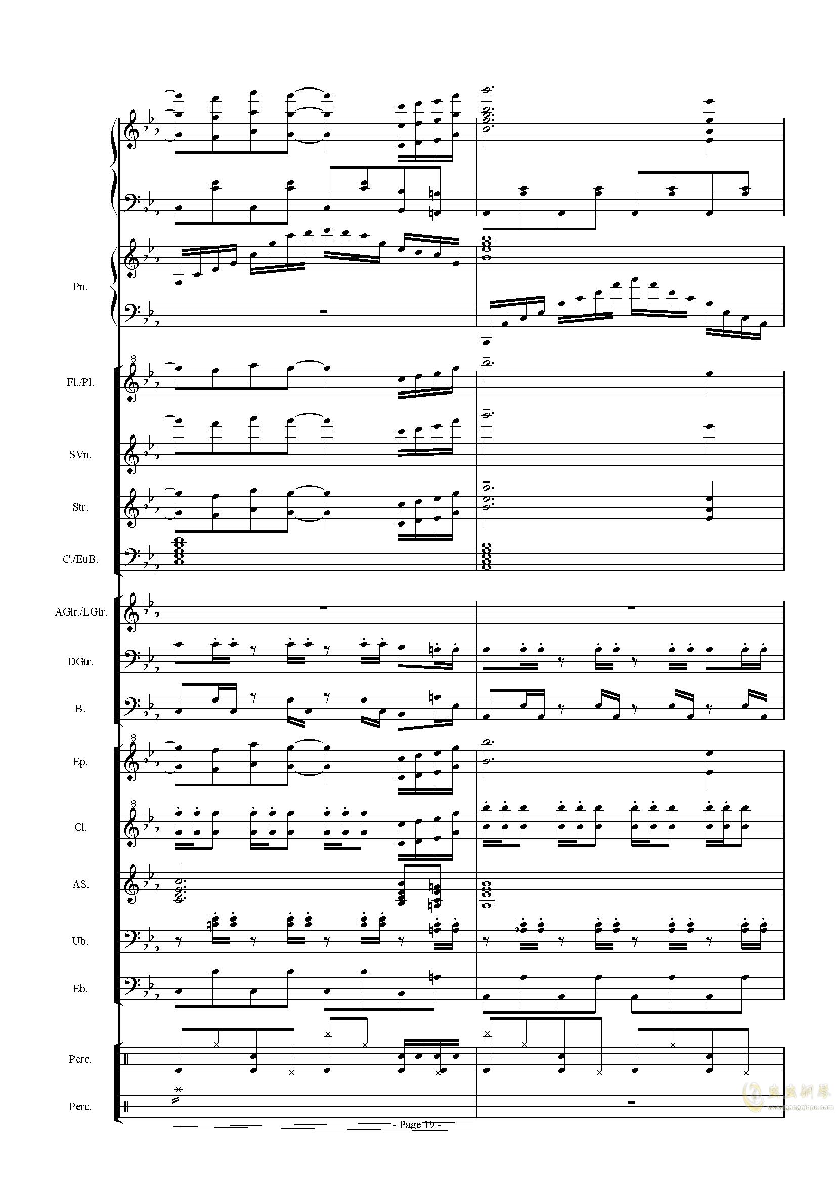 幻想世界之音0�琴�V 第19�