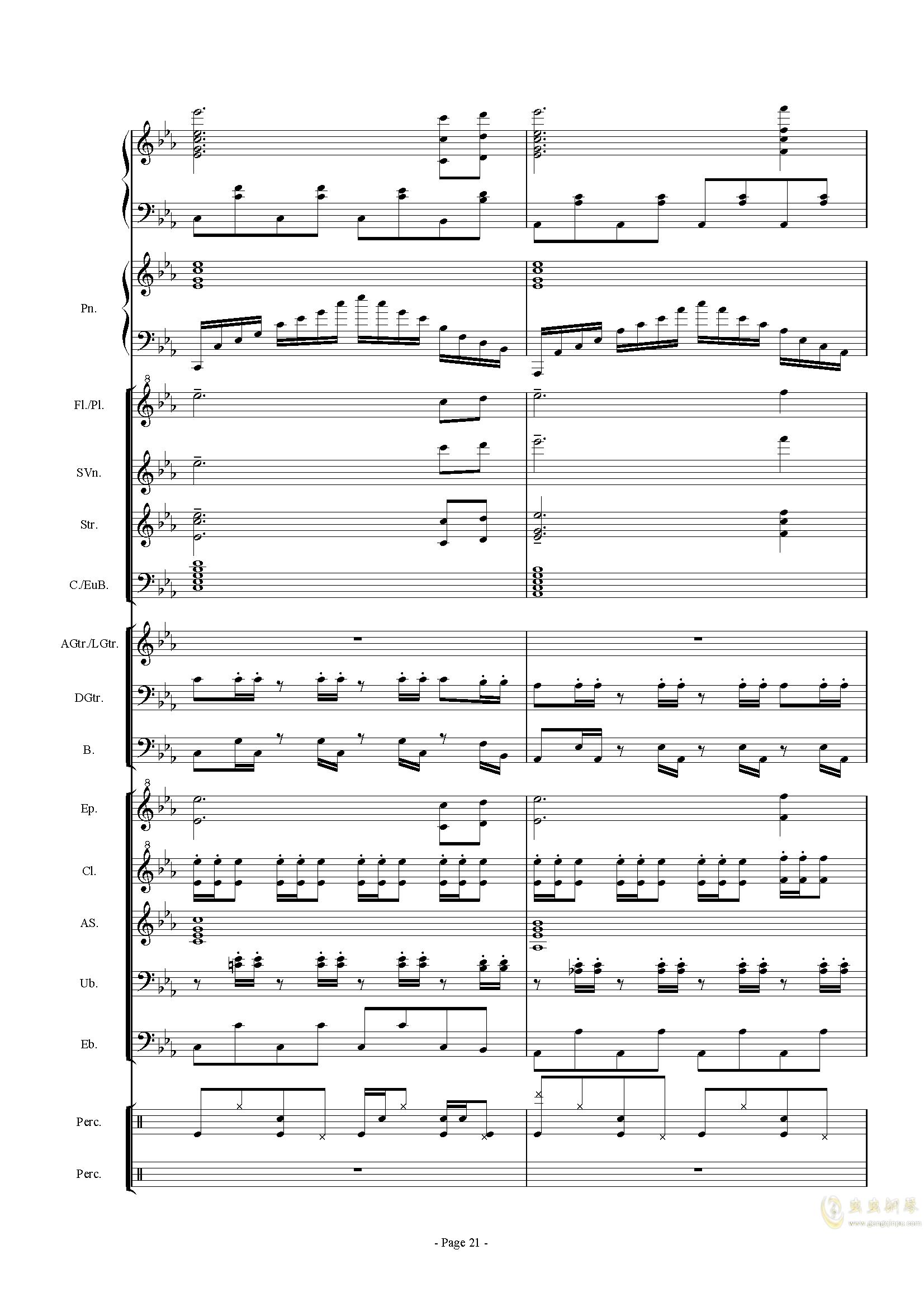 幻想世界之音0�琴�V 第21�