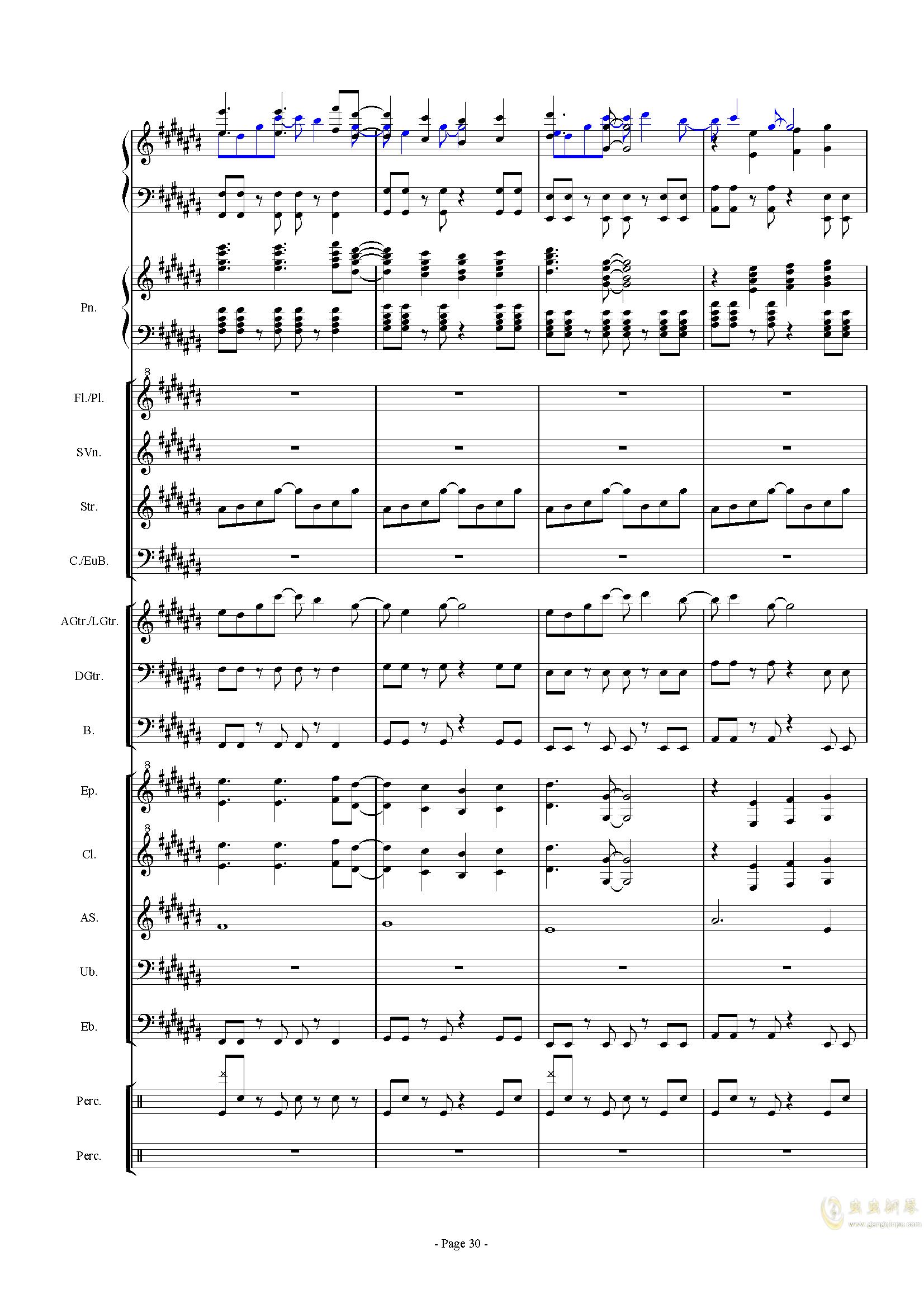 幻想世界之音0�琴�V 第30�