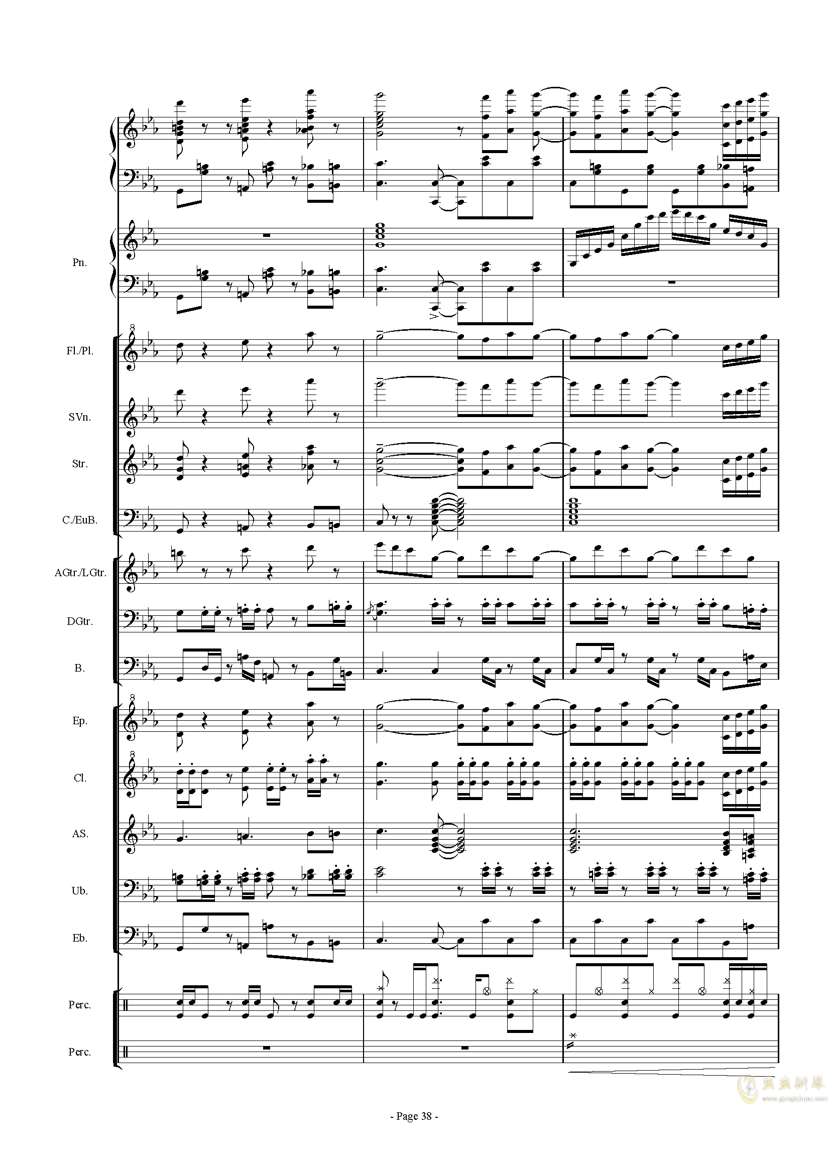 幻想世界之音0�琴�V 第38�