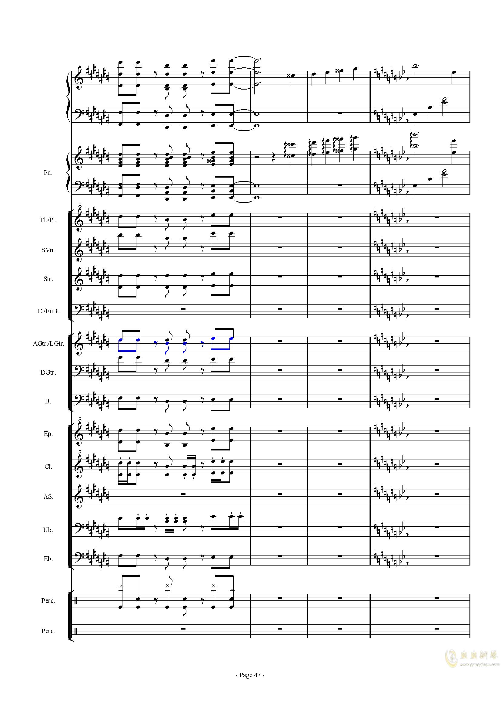 幻想世界之音0�琴�V 第47�