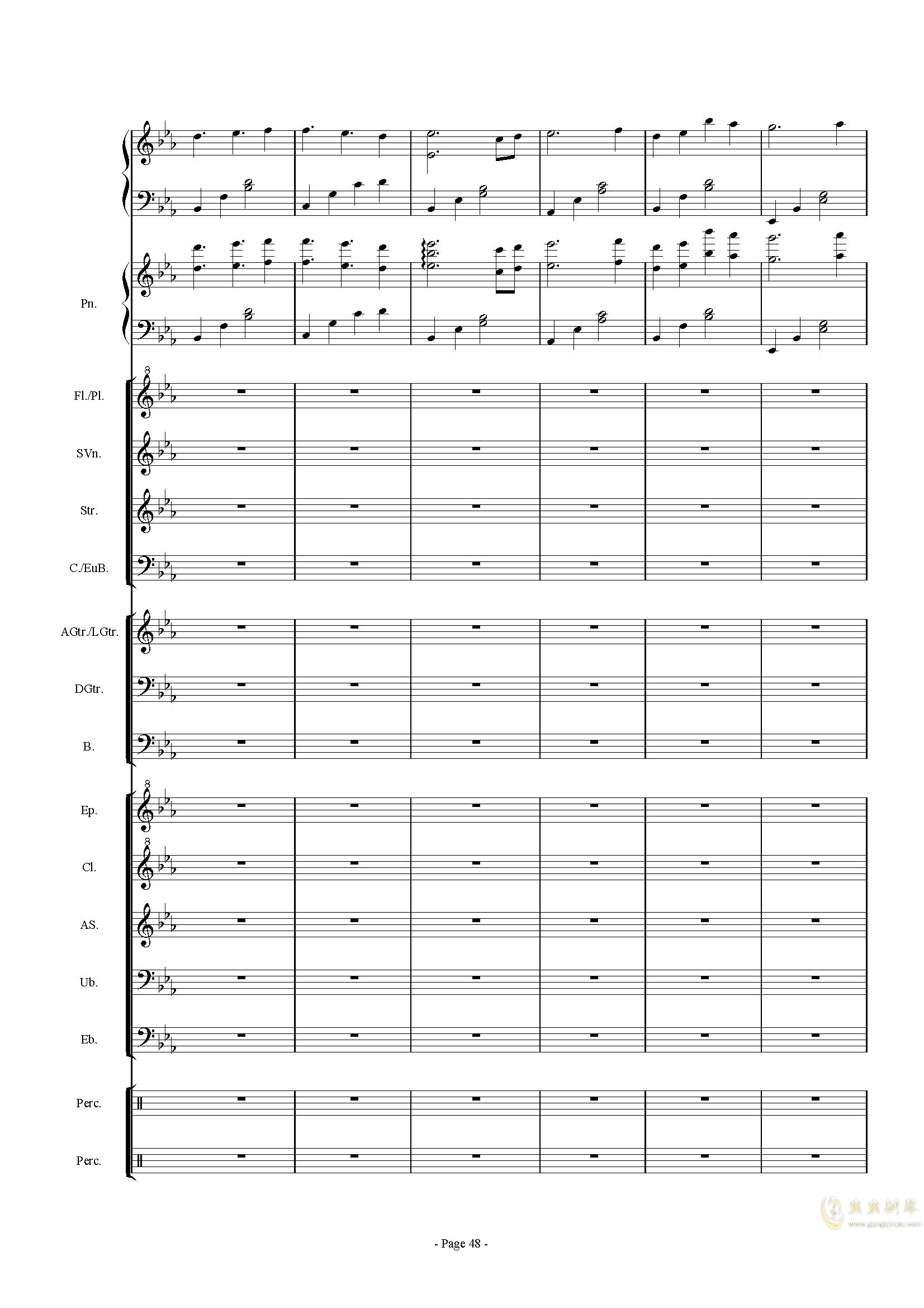 幻想世界之音0�琴�V 第48�