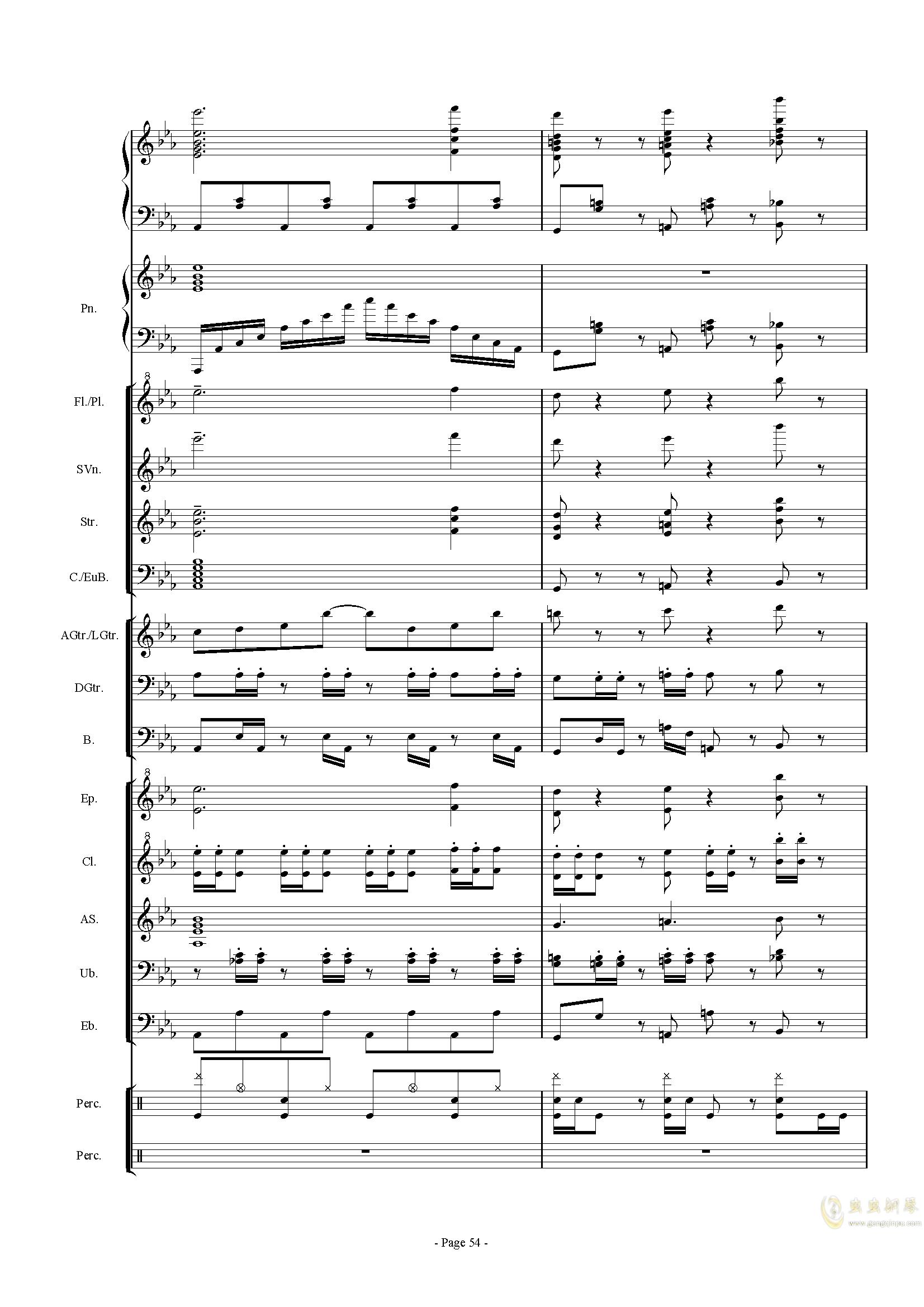 幻想世界之音0�琴�V 第54�