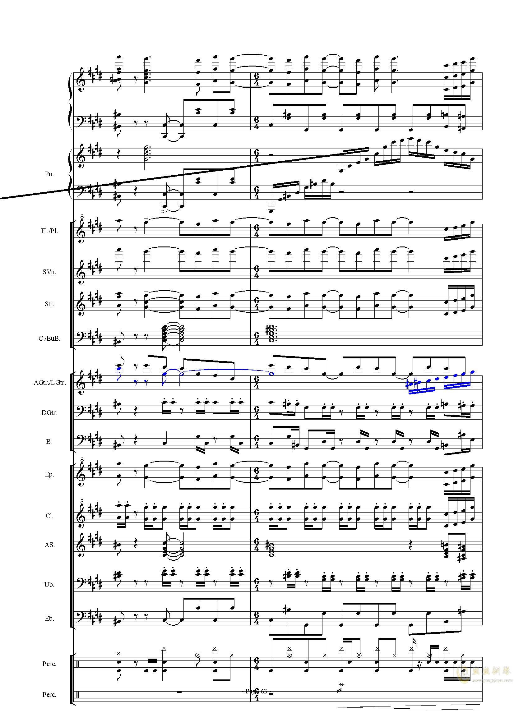 幻想世界之音0�琴�V 第63�