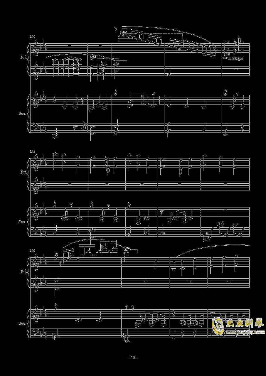 Magic Waltz Piano Duet�琴�V 第10�