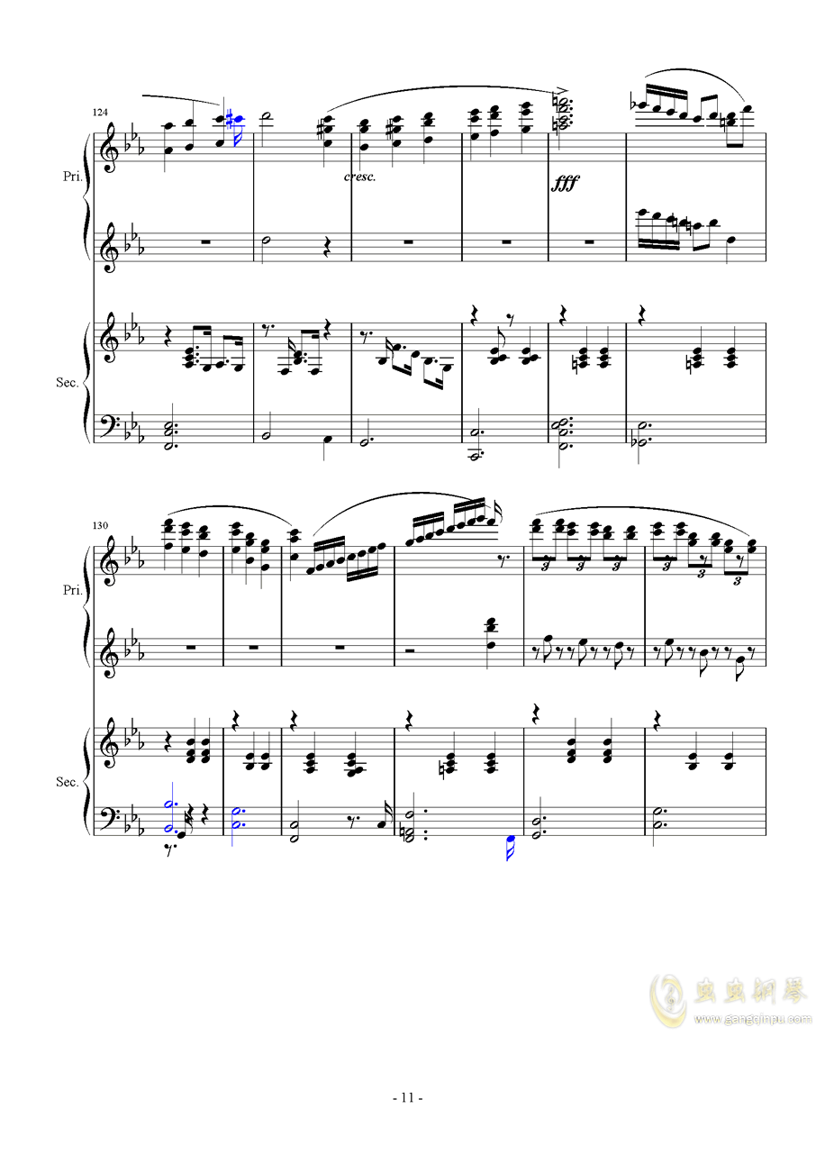 Magic Waltz Piano Duet�琴�V 第11�