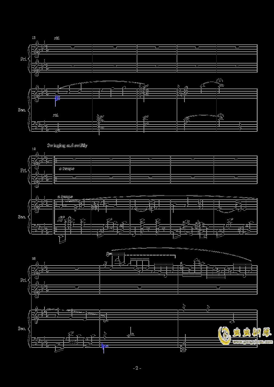 Magic Waltz Piano Duet�琴�V 第2�