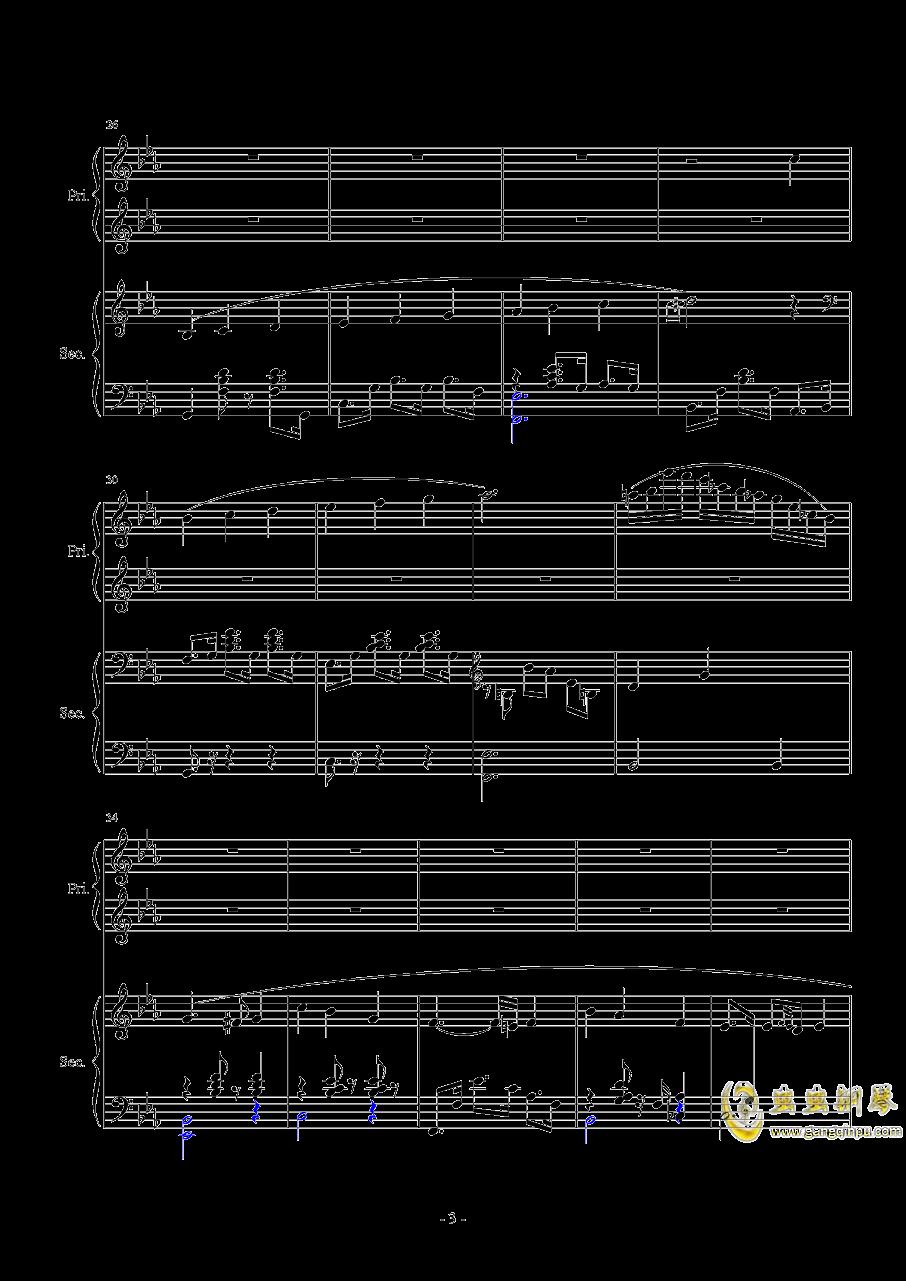 Magic Waltz Piano Duet�琴�V 第3�