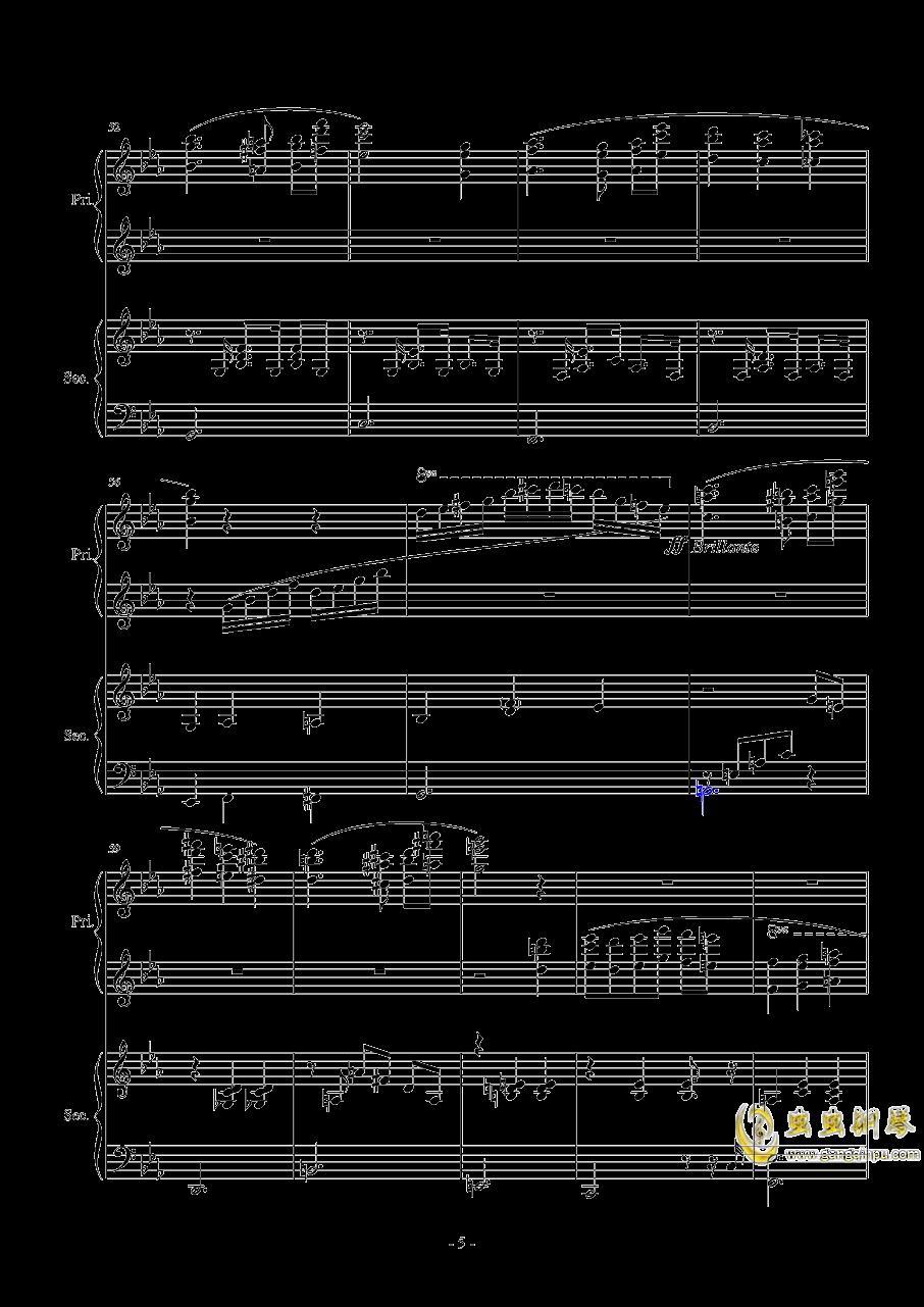 Magic Waltz Piano Duet�琴�V 第5�