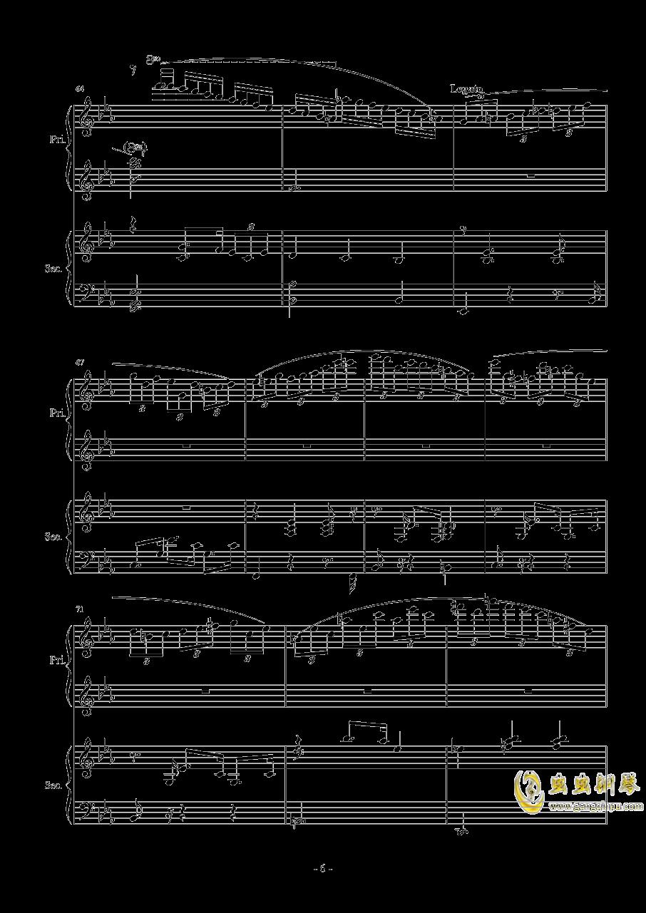 Magic Waltz Piano Duet�琴�V 第6�