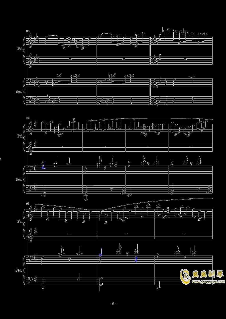 Magic Waltz Piano Duet�琴�V 第8�