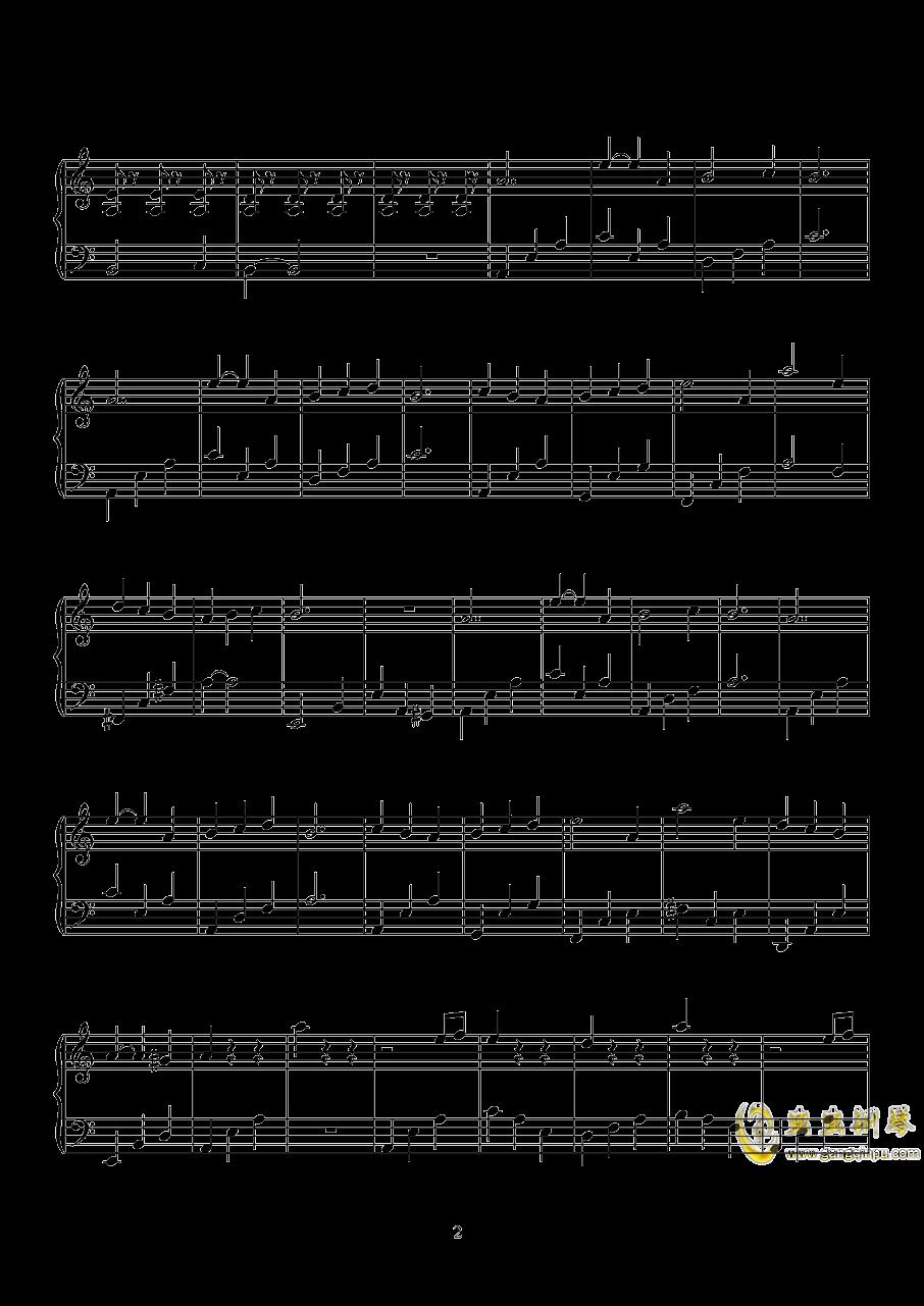 无影灯下BGM钢琴谱 第2页